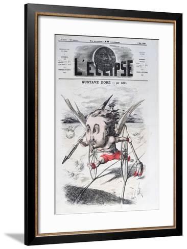 Gustave Dore-Andre Gill-Framed Art Print