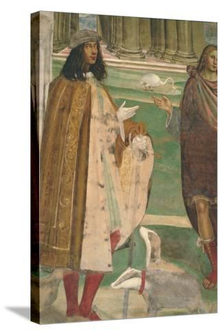 The Life of St. Benedict--Stretched Canvas Print