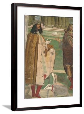 The Life of St. Benedict--Framed Art Print