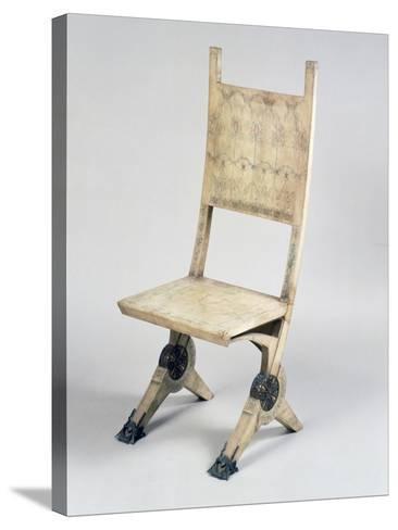 Art Nouveau Style Deck Chair-Carlo Bugatti-Stretched Canvas Print
