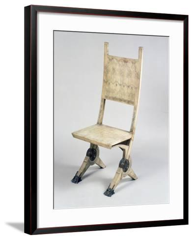 Art Nouveau Style Deck Chair-Carlo Bugatti-Framed Art Print