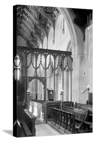 St. Agnes Church, Cawston-Frederick Henry Evans-Stretched Canvas Print