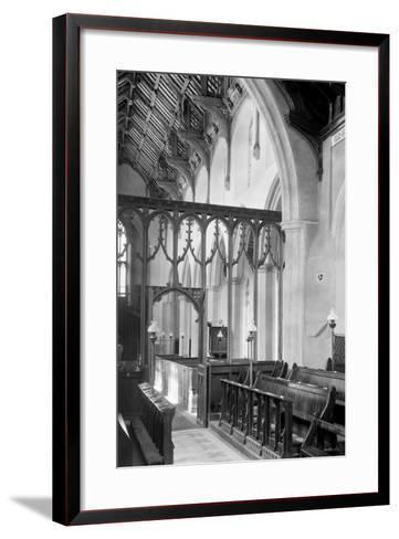 St. Agnes Church, Cawston-Frederick Henry Evans-Framed Art Print