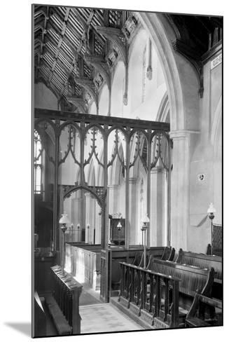 St. Agnes Church, Cawston-Frederick Henry Evans-Mounted Photographic Print