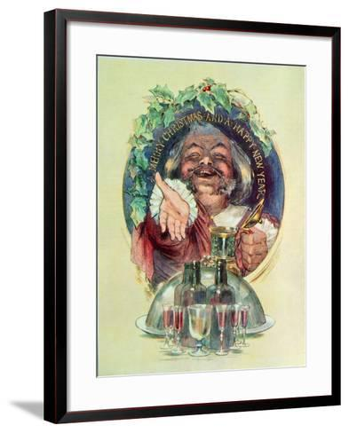 Merry Christmas and a Happy New Year', 1947--Framed Art Print