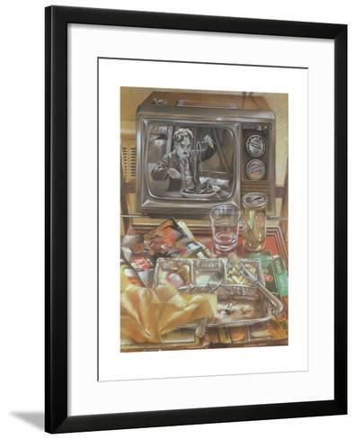 The Gold Rush, 1979-Sandra Lawrence-Framed Art Print