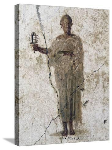 Priest of Isis, Fresco--Stretched Canvas Print