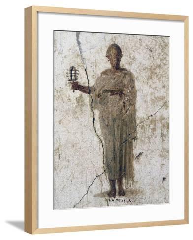 Priest of Isis, Fresco--Framed Art Print