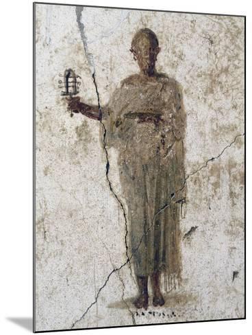 Priest of Isis, Fresco--Mounted Giclee Print