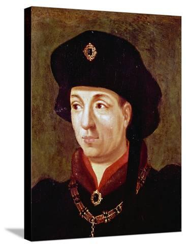 Portrait of Philip III, also known as Philip Good--Stretched Canvas Print