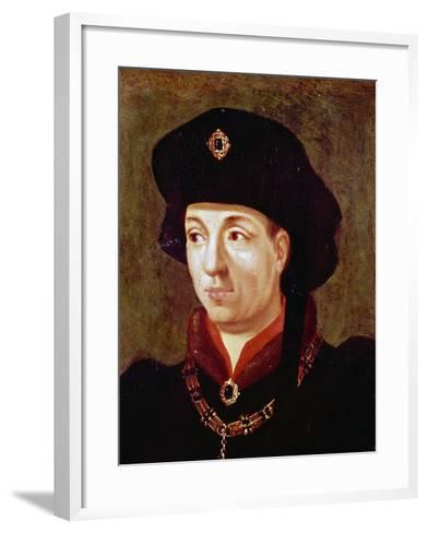 Portrait of Philip III, also known as Philip Good--Framed Art Print