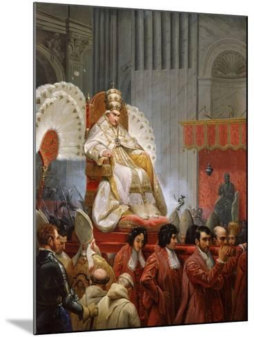Pope Pius VIII-Horace Vernet-Mounted Giclee Print