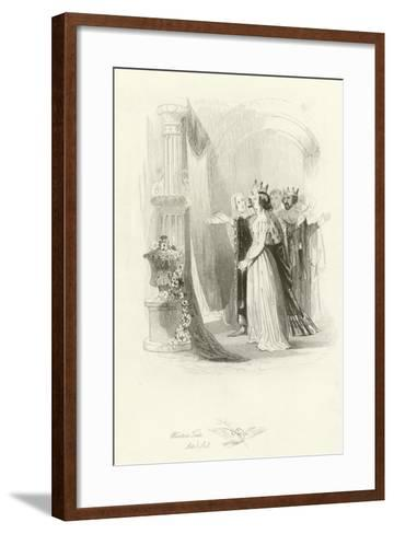 The Winter's Tale-Joseph Kenny Meadows-Framed Art Print