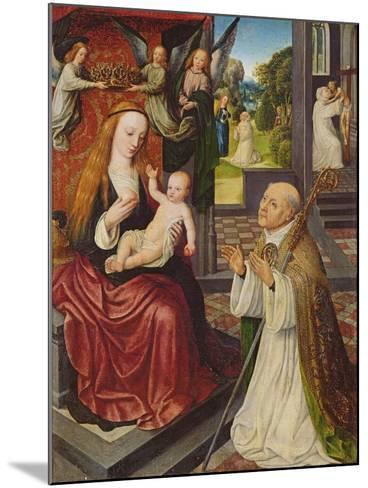 The Lactation of St. Bernard-Jan van Eeckele-Mounted Giclee Print