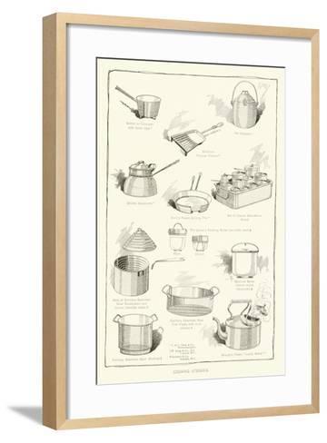 Cooking Utensils--Framed Art Print
