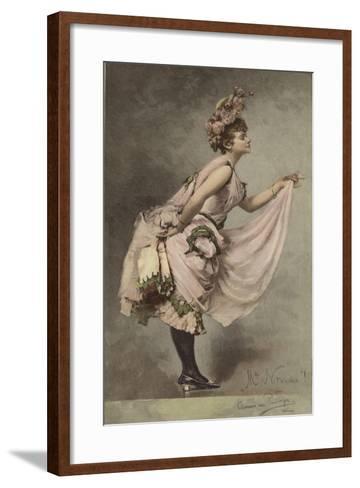Mlle Nitouche-Clemens von Pausinger-Framed Art Print