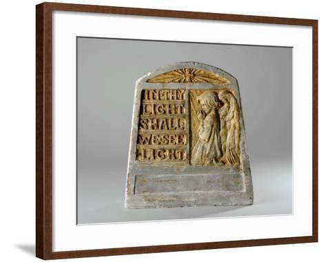 Maquette for a Child's Memorial, C.1920-Ellen Mary Rope-Framed Art Print