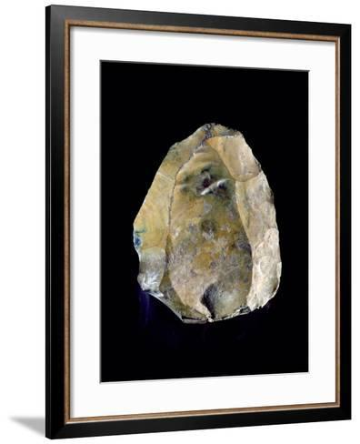 Core Stone, Used for Making Tools, C.250000 Bc--Framed Art Print