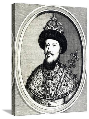 Portrait of Alexei Mikhailovich Romanov--Stretched Canvas Print