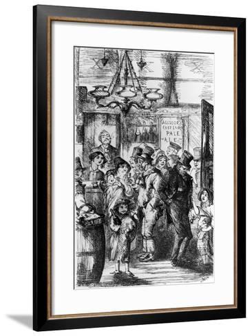 The Gin Palace--Framed Art Print