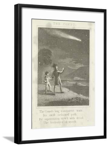 The Comet--Framed Art Print
