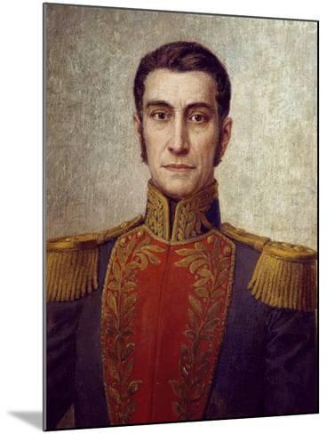Portrait of Rafael Urdaneta--Mounted Giclee Print
