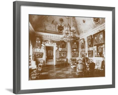 Pink Dining Room, known as the Matisse Room, 1913--Framed Art Print