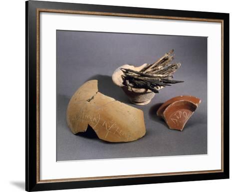 Iron and Bronze Styles--Framed Art Print