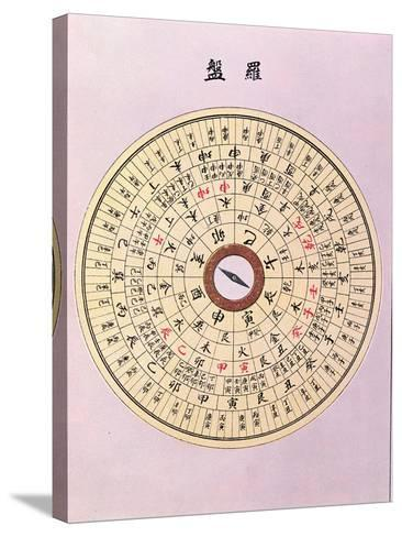 Geomantic Compass, C.1900--Stretched Canvas Print