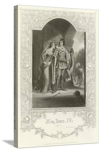 King Henry Iv, Part I, Act Ii, Scene III-Joseph Kenny Meadows-Stretched Canvas Print