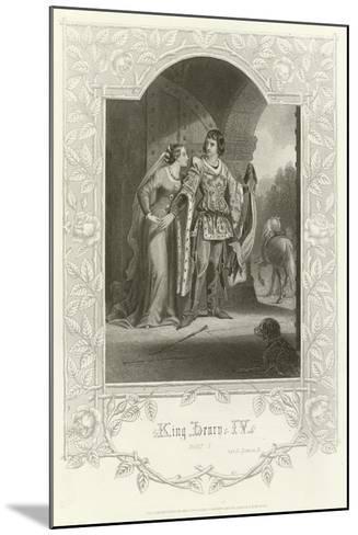 King Henry Iv, Part I, Act Ii, Scene III-Joseph Kenny Meadows-Mounted Giclee Print