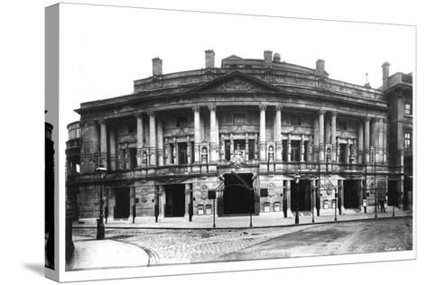 Queen's Hall in Langham Place, London, 1896--Stretched Canvas Print