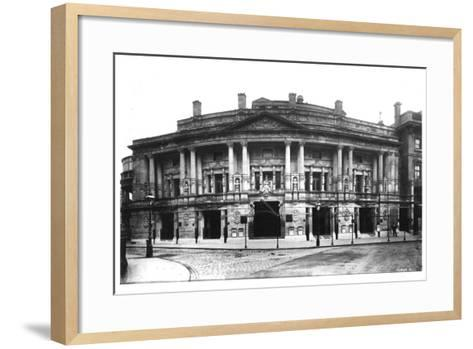 Queen's Hall in Langham Place, London, 1896--Framed Art Print