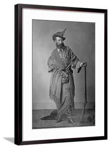 Lord Clonbrook in Theatrical Costume, C.1865-Augusta Crofton-Framed Art Print