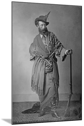 Lord Clonbrook in Theatrical Costume, C.1865-Augusta Crofton-Mounted Giclee Print