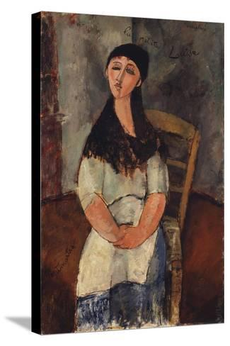 Little Louise, 1915-Amedeo Modigliani-Stretched Canvas Print
