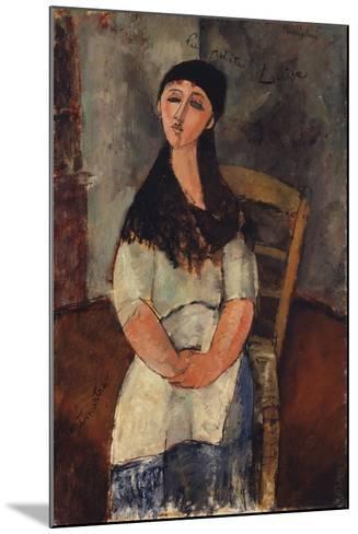 Little Louise, 1915-Amedeo Modigliani-Mounted Giclee Print