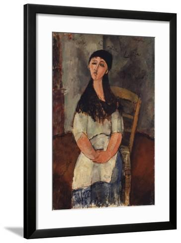 Little Louise, 1915-Amedeo Modigliani-Framed Art Print