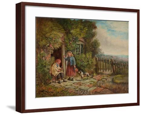 Cottagers-John H. Dell-Framed Art Print