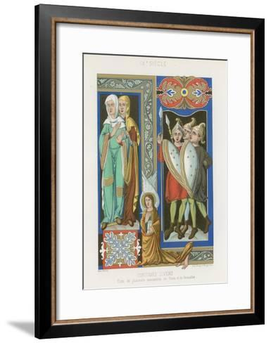 Various Costumes--Framed Art Print
