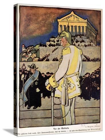 Otto Von Bismarck--Stretched Canvas Print