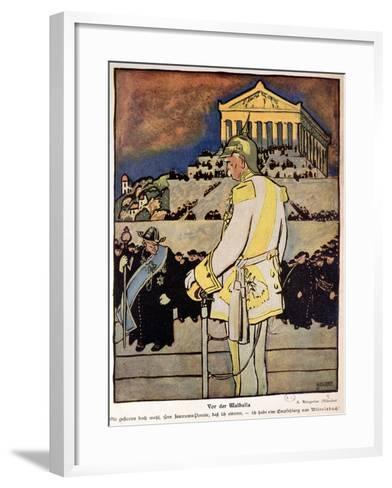 Otto Von Bismarck--Framed Art Print