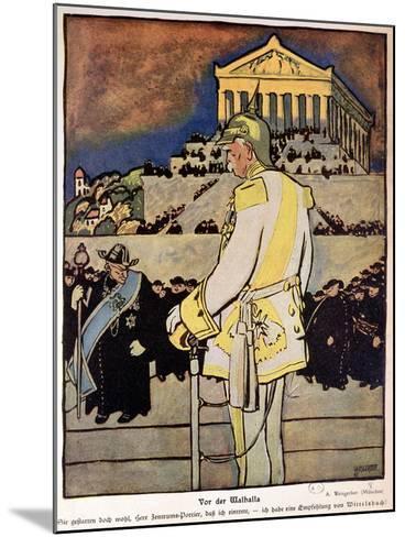 Otto Von Bismarck--Mounted Giclee Print