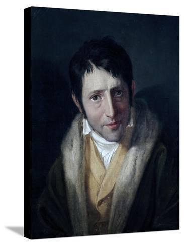 Portrait of Ludwig Borne--Stretched Canvas Print