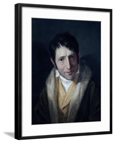 Portrait of Ludwig Borne--Framed Art Print
