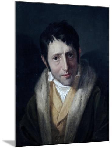 Portrait of Ludwig Borne--Mounted Giclee Print