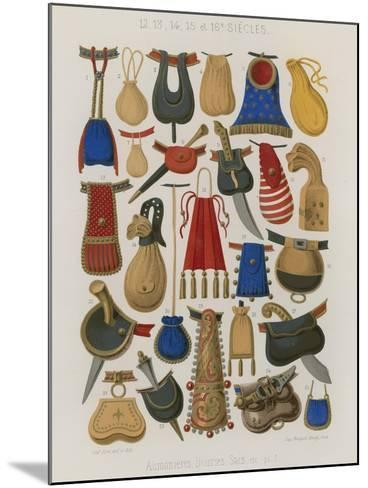 Purses, Pouches and Bags--Mounted Giclee Print