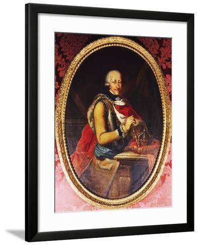 Victor Amadeus III of Sardinia--Framed Art Print