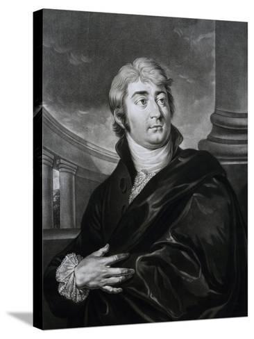 Portrait of Joseph Ferdinand Von Sonnleithner--Stretched Canvas Print