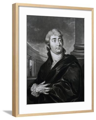 Portrait of Joseph Ferdinand Von Sonnleithner--Framed Art Print